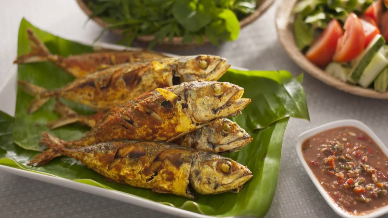 Ikan Kembung Goreng | Fried Mackerel | AJI-NO-MOTO® | Try