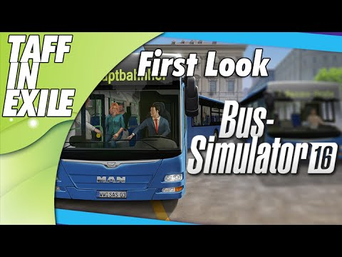 Bus Simulator 16 - First Look Lets take her for a Spin