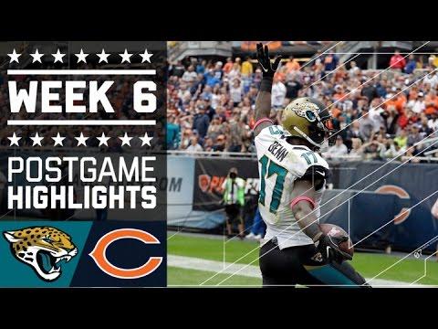 Jaguars vs. Bears | NFL Week 6 Game Highlights