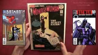 Wonder woman comix Batgirl bondage