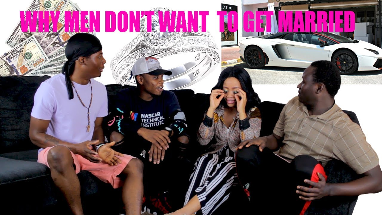 Why Men Dont Want To Get Married - YouTube