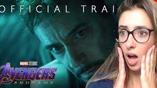 Marvel Studios' Avengers: Endgame - Official Trailer REACTION and Review!