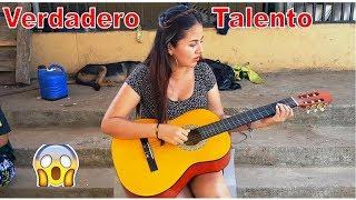-Señorita Posee Un Gran Talento Para Tocar Guitarra🎸Un Verdadero Talento-Talentos-P6