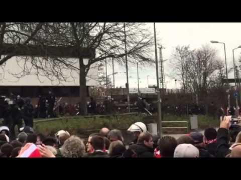 Kaiserslautern gegen Duisburg// Nach dem Spiel
