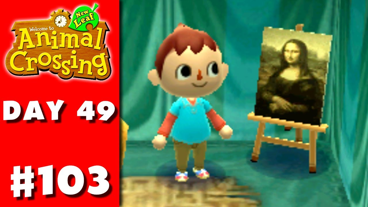Animal crossing new leaf part 103 famous painting for Animal crossing mural