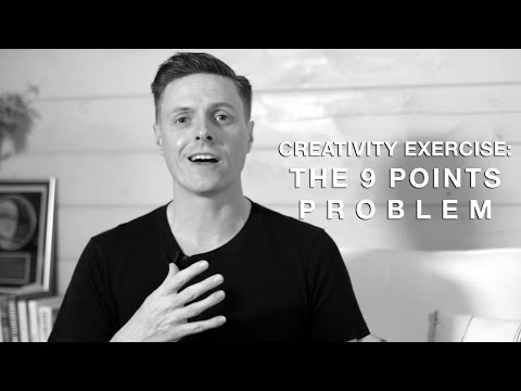 Creativity Exercise: The 9 Points Problem