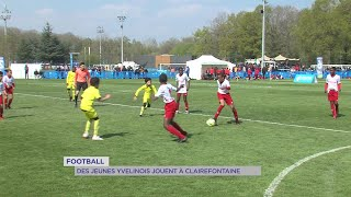 Yvelines | Football : Des jeunes Yvelines jouent à Clairefontaine
