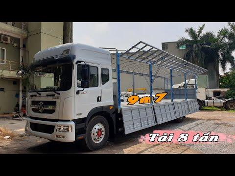 Mua xe tải DongFeng 8 tấn thùng dài 9m7 chỉ cần 260 triệu đồng | Nhập khẩu 2021
