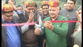 Dy CM @msisodia & Tourism Minister @KapilMishraAAP inaugurated Nakshatra Vatika at Kudesiya Ghat.