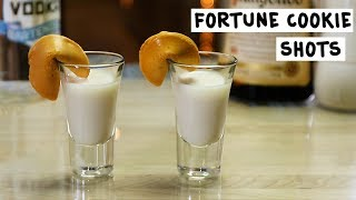 Fortune Cookie Shot