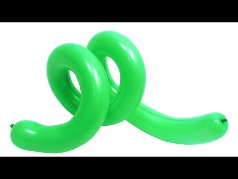 Смотреть онлайн Спираль №3 из воздушных шаров