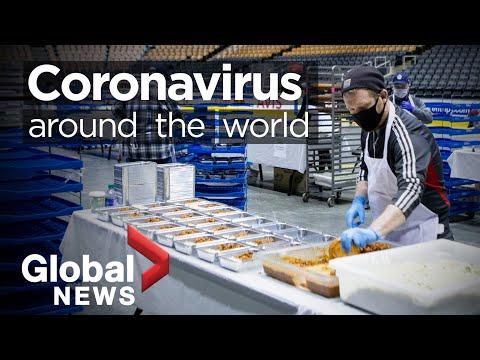 Coronavirus around the world: April 25, 2020