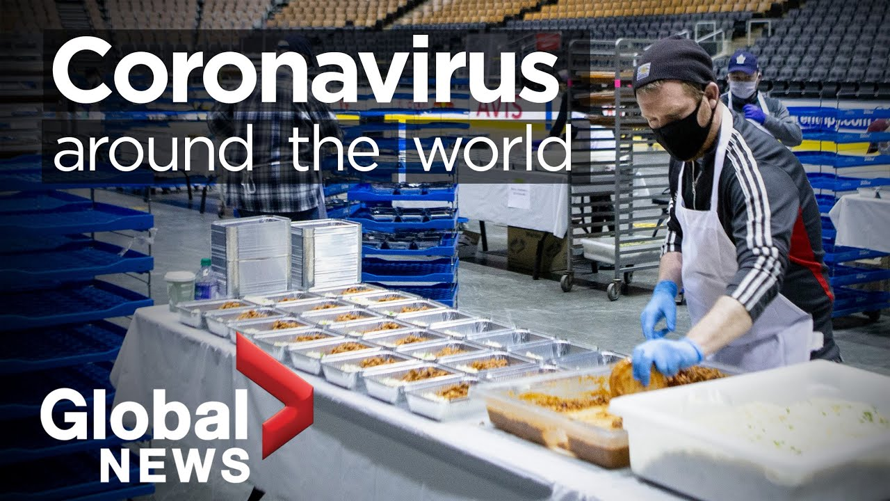 Coronavirus around the world: April 25, 2020