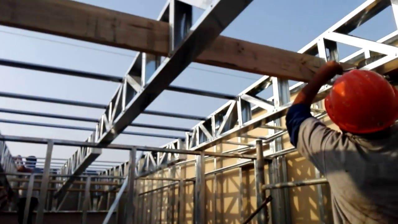Fijado de tijerales a vigas de madera drywall - Vigas de madera ...