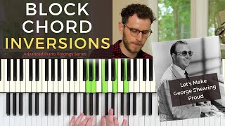 Block Chord Inversions: Advanced Jazz Piano Voicing Techniques