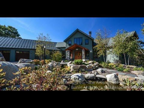 Timberpeg Grafton New Hampshire Timber Frame Home