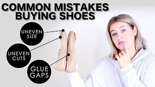 Common Mistakes When Buying SHOES | Milabu