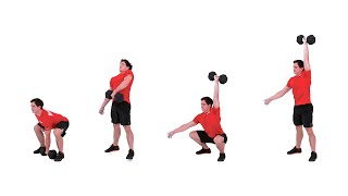 The Dumbbell Squat Snatch