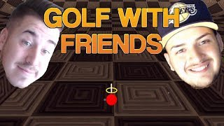 NE-AM INTORS PE GOLF WITH FRIENDS!