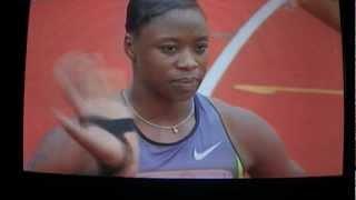 2012 U.S. Olympic trials women 200m FINAL