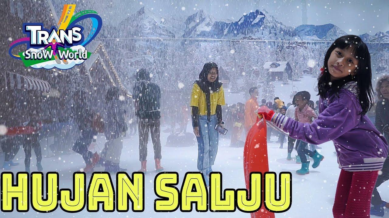 Wahana salju terbesar di Indonesia - Vlog Trans Snow World Bekasi