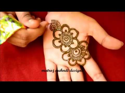 Easy Simple Mehndi Design For Hands For Eid 2018 Simple Arabic