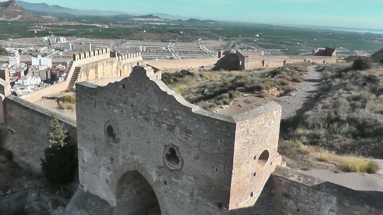 Vista aerea del Castillo de Sagunto- Aerial view of the Sagunto Castle - YouTube