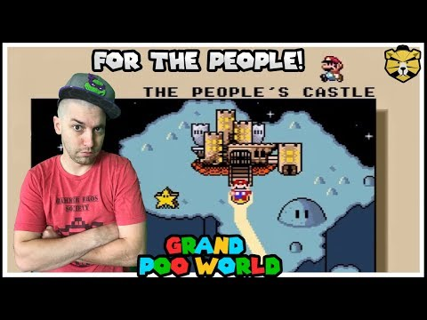 Storming The People's Castle! Grand Poo World Part 18