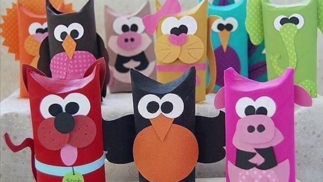 20 ideas con rollos de papel higi nico manualidades - Manualidades con rollos de papel higienico para navidad ...