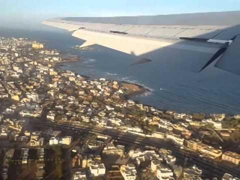 Sunset Over DAKAR and Take Off to BAMAKO on 767-300