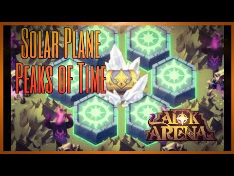 AFK Arena | Solar Plane - Peaks of Time