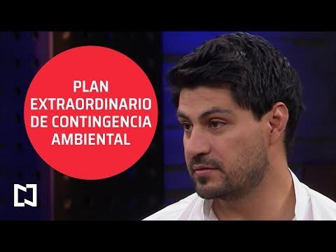 Plan extraordinario de contingencia ambiental - Punto y Contrapunto