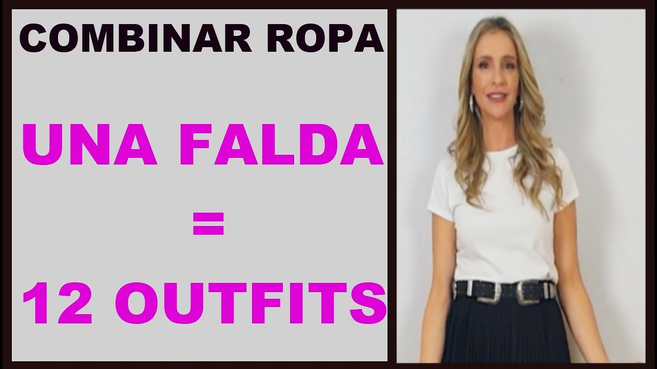 Combinar Ropa Falda Plisada Outfits Y Tutorial De Moda Chinchalover Youtube