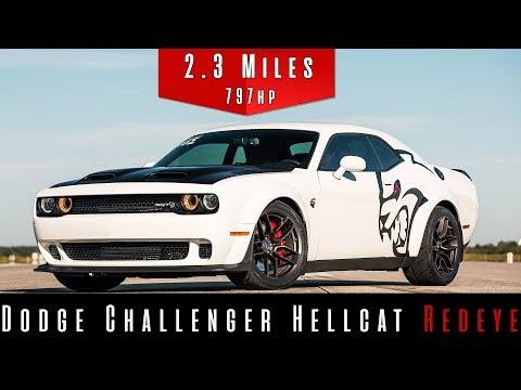 Watch a Challenger Hellcat Redeye Hit Nearly 200 MPH on a NASA Runway