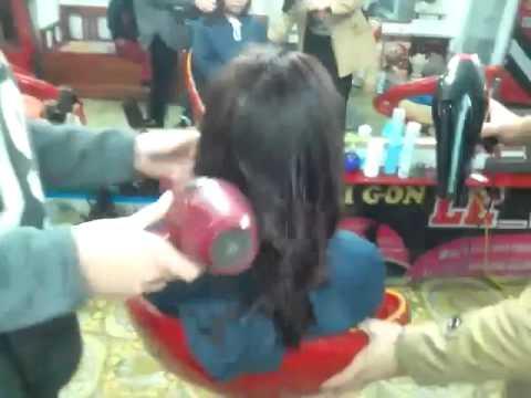tóc đẹp hà nam  toc xoan uon cup chu c ,Hoan tóc hairsalon