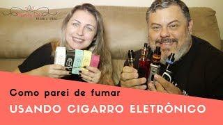 Como parei de fumar usando Cigarro Eletrônico ou Vape !!! 18 minutos