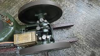 Ruston and Hornsby ZPR  stationary engine, slow running.