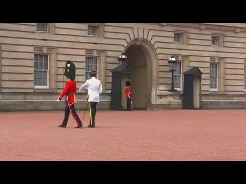 Changing the Guard at Buckingham Palace Royal Malay Regiment Part 2