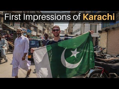 First Impressions of Karachi, PAKISTAN