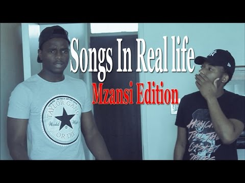 SONGS IN REAL LIFE (South Africa) | Satube Squad