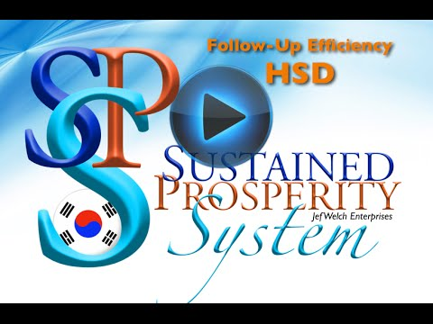 Korea - HSD - Jef Welch training the Sustained Prosperity Sy