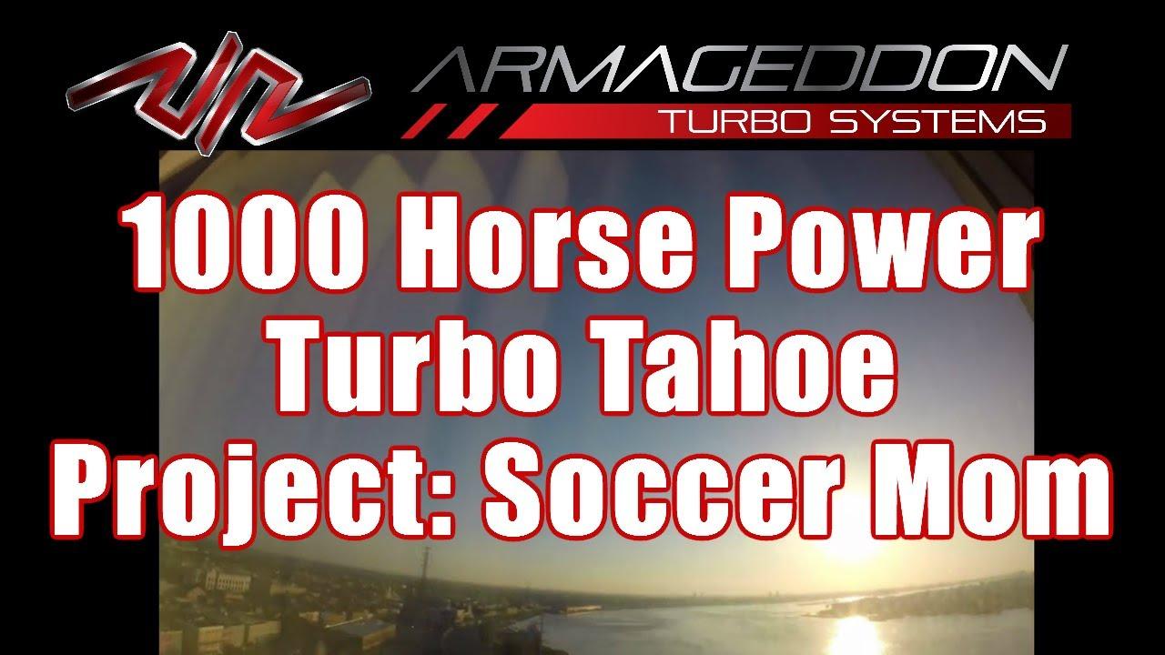 1000 HP Turbo Tahoe - Project: Soccer Mom vs  Bourbon Street, NOLA