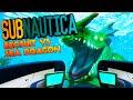 Subnautica - EXOSUIT UPDATE VS SEA DRAGON FIGHT, ANIMATIONS & SOUND UPDATE (Subnautica Gameplay)