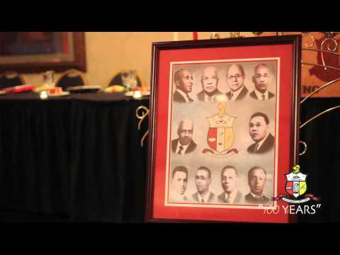 "Kappa Alpha Psi ""Triad Founders Day"" 100 Years"