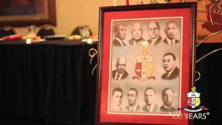 "Kappa Alpha Psi ""Triad Founders Day"" 100 Years"