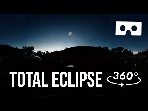 2017 Total Eclipse – 360° VR – You Are There!