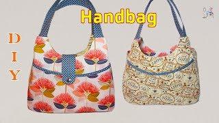 DIY HANDBAG | BAG IDEAS MAKING | Coudre un sac | Bolsa de bricolaje | 가방| バッグ| мешок