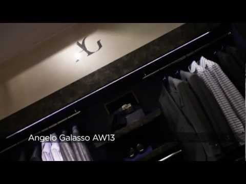 Angelo Galasso AW13 At London Collections: Men