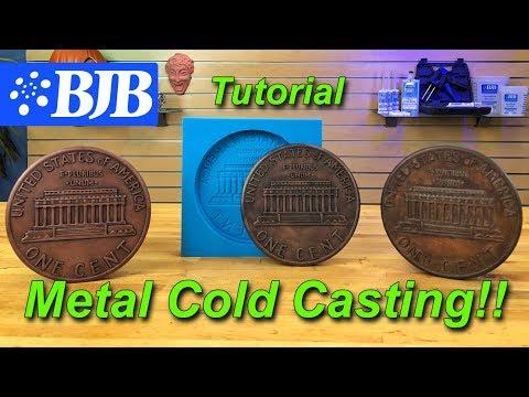 Metal Cold Casting | TC-808 Jet Black & Metal Powder