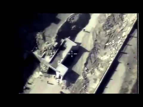 Syria War 2017 - Russian air force targets Al Nusra HQ in north Hama countryside